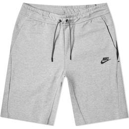 Nike Tech Fleece Shorts Men - Dark Grey Heather/Dark Grey/Black