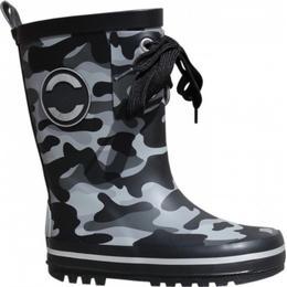 Mikk-Line Rubber Boots - Black Camo