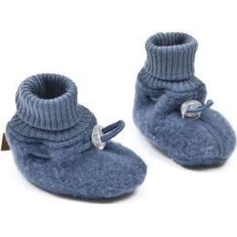Smallstuff Merino Wool Booties - Denim