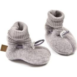Smallstuff Merino Wool Booties - Blue Rose
