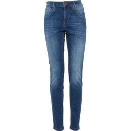 PULZ Jeans Carmen Highwaist Skinny Jeans - Medium Blue Denim