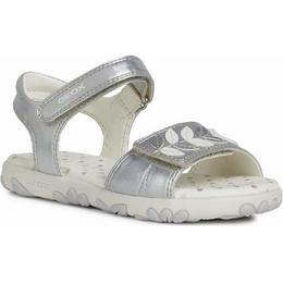 Geox Synthetic Haiti Girl - Silver