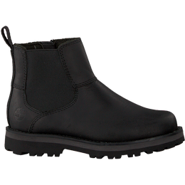 Timberland Kid's Courma Chelsea Zipped Boots - Black