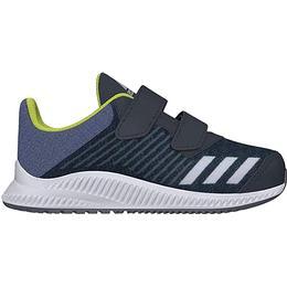 Adidas Infant FortaRun - Carbon/Silver Metallic/Raw Steel