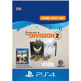 Ubisoft Tom Clancy's The Division 2 - 4100 Premium Credits - PS4