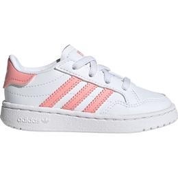 Adidas Infant Team Court - Cloud White/Glow Pink/Core Black