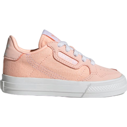 Adidas Infant Continental Vulc - Clear Orange/Cloud White/Clear Orange