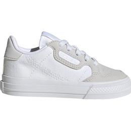 Adidas Infant Continental Vulc - Cloud White/Cloud White/Grey One