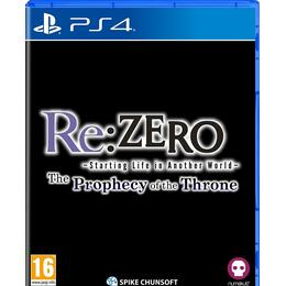Re: Zero: Starting Life In Another World - The Prophecy Of The Throne
