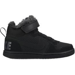 Nike Court Borough Mid Winter PSV - Black/Black/Anthracite