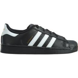 Adidas Kid's Superstar Foundation Lace - Core Black/Cloud White/Core Black