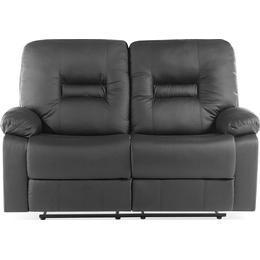 Beliani Bergen 146cm Leather Sofa 2 pers.