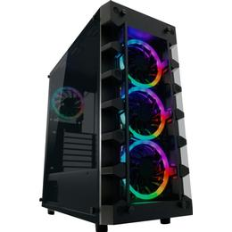 LC-Power Gaming 709B Solar_System_X Tempered glass
