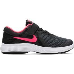 Nike Revolution 4 PSV - Black/White/Racer Pink