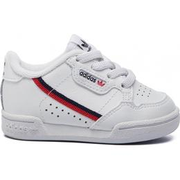 Adidas Infant Continental 80 - Cloud White/Scarlet/Collegiate Navy