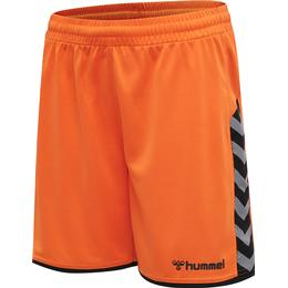 Hummel Hmlauthentic Poly Shorts Kids - Orange