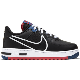 Nike Air Force 1 React GS - Black/Gym Red/Gym Blue/White