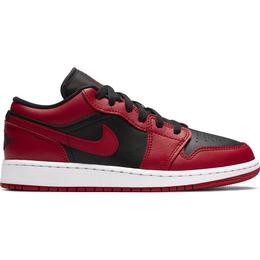 Nike Air Jordan 1 Low GS - Gym Red/White/Black
