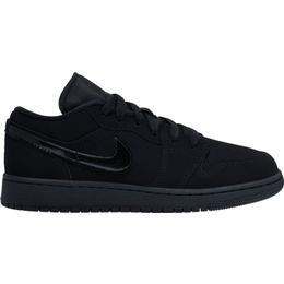 Nike Air Jordan 1 Low GS - Black