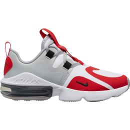 Nike Air Max Infinity GS - White/Black/University Red/Wolf Grey