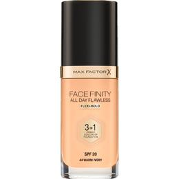 Max Factor Facefinity All Day Flawless 3 in 1 Foundation SPF20 #44 Warm Ivory
