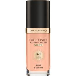 Max Factor Facefinity All Day Flawless 3 in 1 Foundation SPF20 #N32 Light Beige