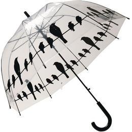 Esschert Design Fugle på en snor Gennemsigtig Paraply (TP166)
