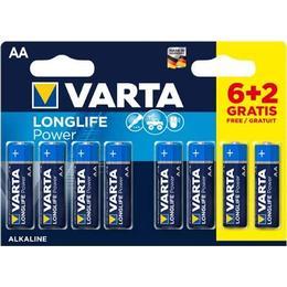 Varta High Energy AA 8-pack