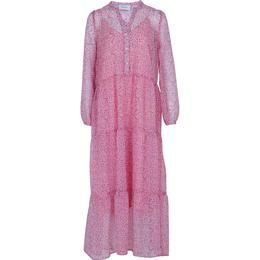 Neo Noir Nobis Sparkle Dress - Pink