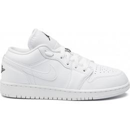 Nike Air Jordan 1 Low GS - White/Black/White