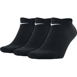 Nike Value Lightweight No-Show Socks 3-pack Unisex - Black/White