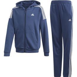 Adidas Tracksuit Boys - Dark Blue/White