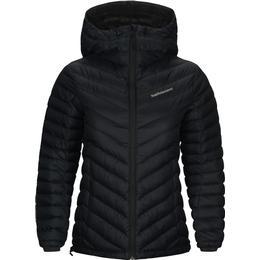 Peak Performance Frost Down Hood Jacket Women - Black