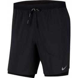 "Nike Flex Stride 7"" 2-in-1 Running Shorts Men - Black"