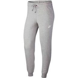 Nike Essential Fleece Pants Women - Dark Grey Heather/Matte Silver/White
