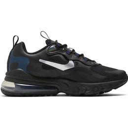 Nike Air Max 270 React GS - Black/Deep Royal Blue/Smoke Grey/Metallic Cool Grey