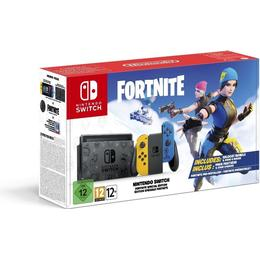 Nintendo Switch - Yellow/Blue - 2020 - Fortnite Special Edition