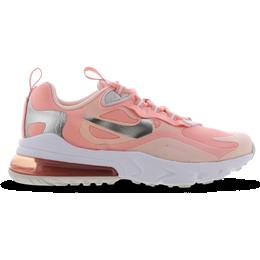 Nike Air Max 270 React GS - Bleached Coral/White/Echo Pink/White