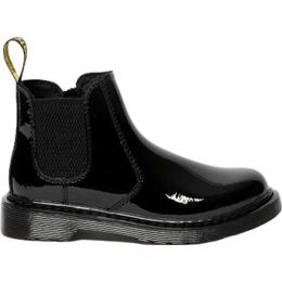 Dr Martens Junior 2976 Chelsea Boots - Black Patent Lamper