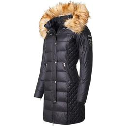 RockandBlue Beam Down Jacket - Black/Natural (Faux Fur)