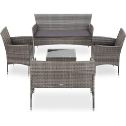 vidaXL 45894 Loungesæt, 1 borde inkl. 2 stole & 2 sofaer