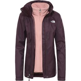 The North Face Women's Evolve II Triclimate Jacket - Root Brown/Pink Clay