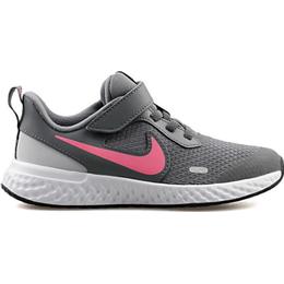 Nike Revolution 5 PSV - Smoke Grey/Pink Glow/Photon Dust/White