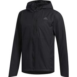 Adidas Own the Run Hooded Wind Jacket Men - Black
