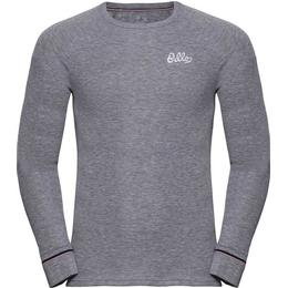 Odlo Active Warm Originals Long-Sleeve Baselayer Top Men - Grey Melange