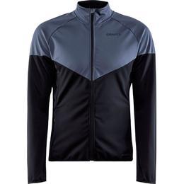 Craft Glide Block Jacket Men - Asphalt/Black