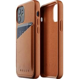 Mujjo Full Leather Wallet Case for iPhone 12 Mini