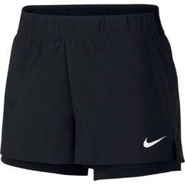 Nike Court Flex Shorts Women - Black/White