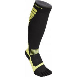 ToeToe Compression Knee-High Socks Unisex - Black/Green