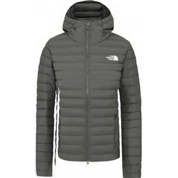 The North Face Women's Stretch Down Hooded Jacket - New Taupe Green